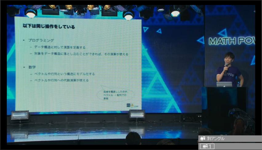 数学とプログラミングについて語る伊藤さん