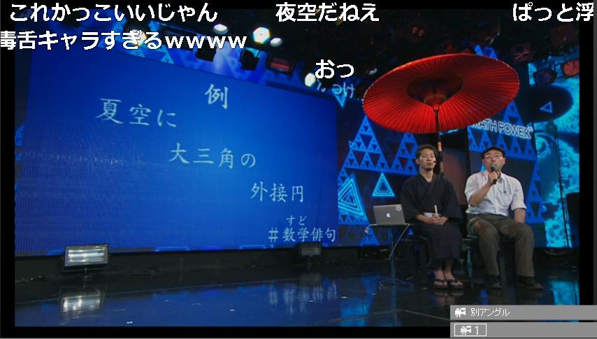 俳句を鑑賞する横山明日希さん(左)と関悦史さん(右)